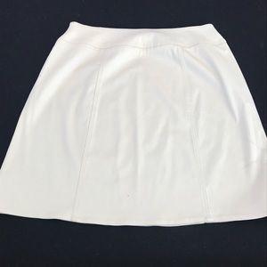 Chaus career A-line khaki color skirt size 12